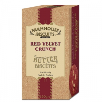 BISCUITI CU UNT LUXURY VELVET CRUNCH  FARMOUSE 150G