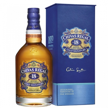 Whisky Chivas Regal 18yo 70cl