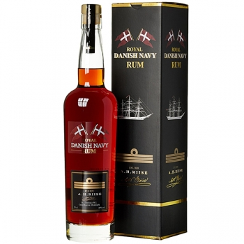ROM A H RIISE ROYAL DANISH NAVY RUM 0.7L