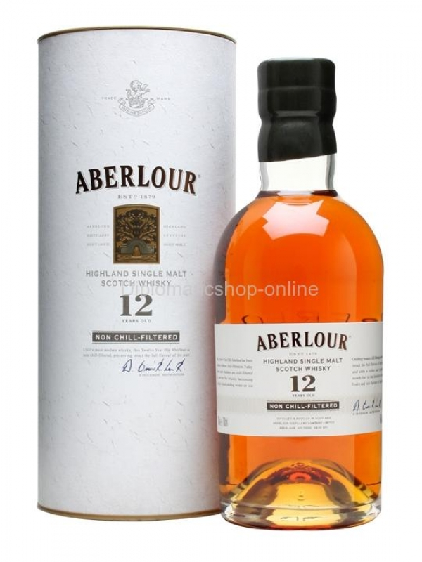 WHISKY ABERLOUR 12YO UNCHILL FILTERED 0.7 0