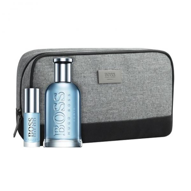 Hugo Boss Bottled Tonic 100ml.8ml.Bag EDT SET Ml 0