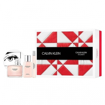CALVIN KLEIN WOMAN 100ML.10ML.100BL APA DE PARFUM SET ML