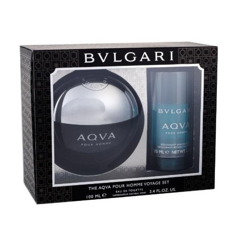 Bvlgari Aqva Men Set ( Edt 100ml *stick 75ml) 0