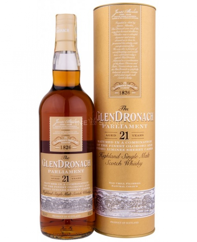 WHISKEY GLENDRONACH 21YO PARLIAMENT 70CL 0