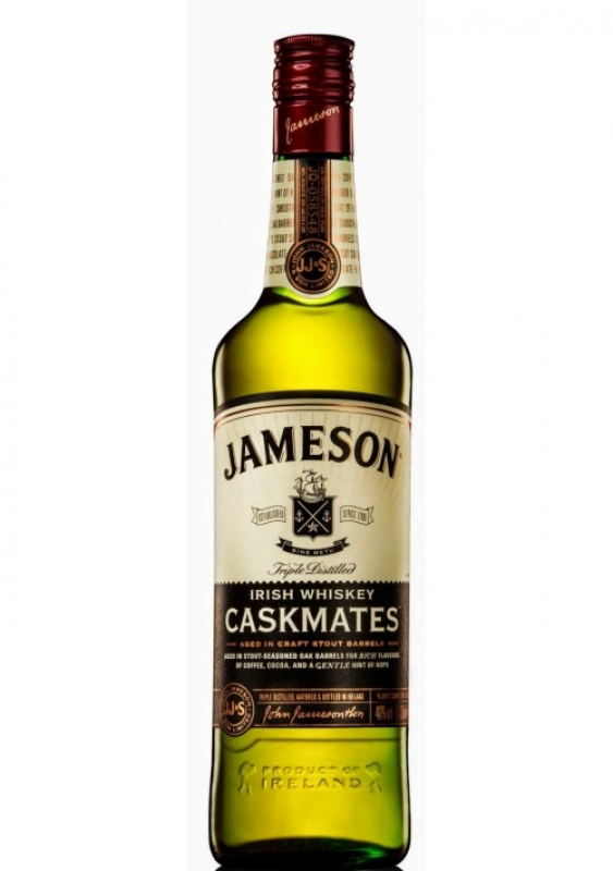 WHISKEY JAMESON CASKMATES 1L 0