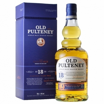Whisky Old Pulteney 18 Ani 0.7l