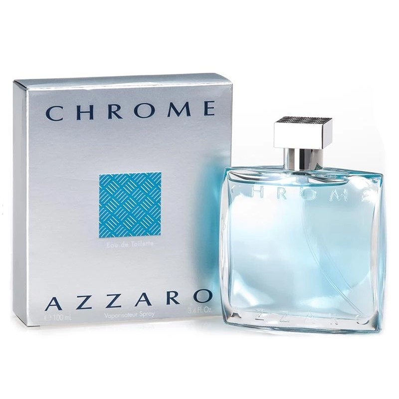 AZZARO CHROME APA DE TOALETA 100 ML 0