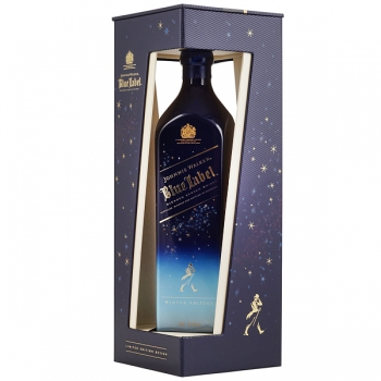 WHISKY JOHNNIE WALKER  BLUE WINTER WONDERLAND 0.7L
