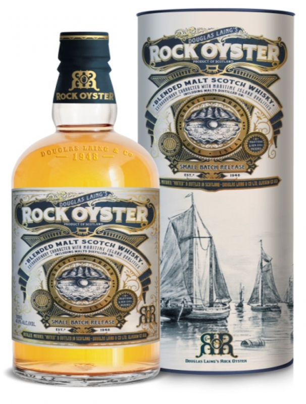 WHISKEY ROCK OYSTER TUBE 0.7l 0