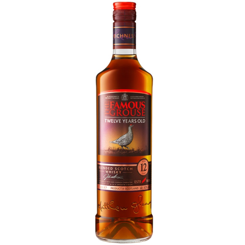 WHISKEY FAMOUS GROUSE 12YO 70CL 0