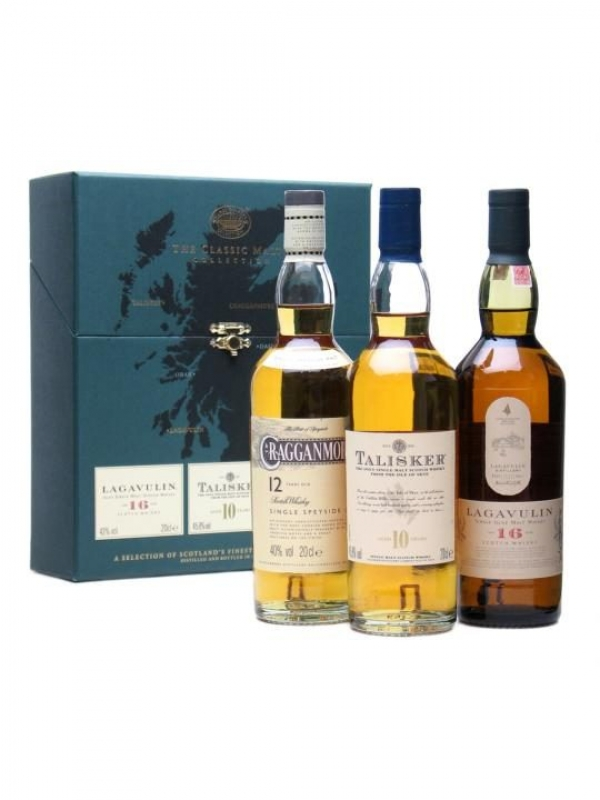Whisky Triple Pack Malt Collection 3*0.2 L 0