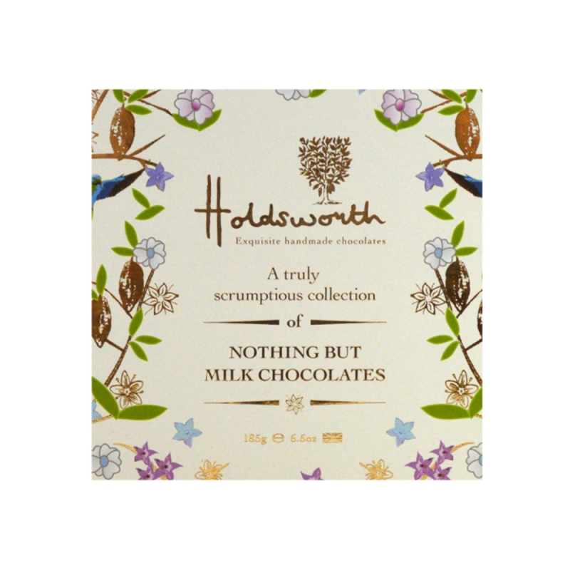HOLDSWORTH MILK CHOCOLATE COLLECTION 185G 1