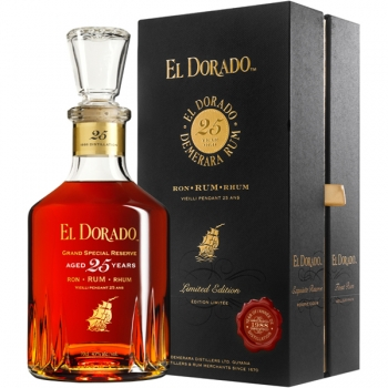 Rom El Dorado 25yo 0.7l