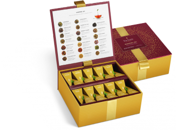 TEA FORTE TEA CHEST CRACIUN FESTIVE COLLECTION 40BUC