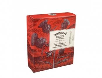 BISCUITI SHORTBREAD ORANGE&CHOCO BOX 140G