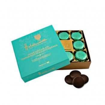 Bomboane De Ciocolata Neagra Cu Menta Holdsworth 200g