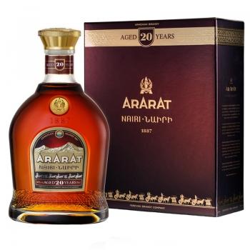 BRANDY ARARAT 20YO 0.7L