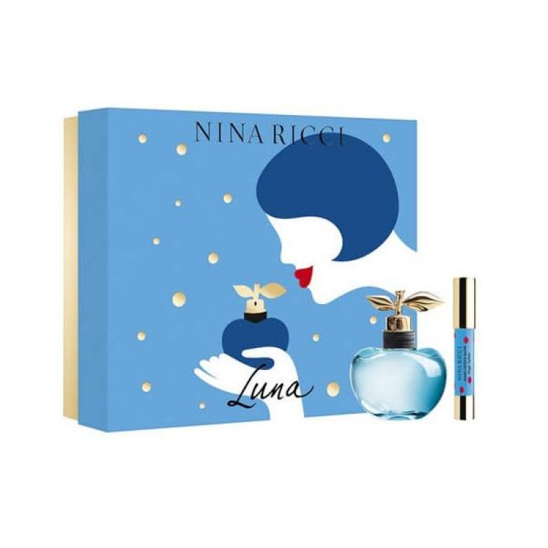 Nina Ricci Luna 50ml.Lipstick Fuchsia EDT SET Ml 0