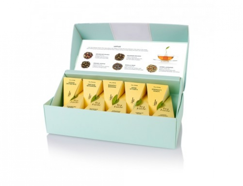 TEA FORTE RIBBON BOX CEAI LOTUS 20 BUC 0