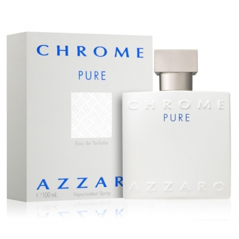 AZZARO CHROME PURE APA DE TOALETA 100 ML
