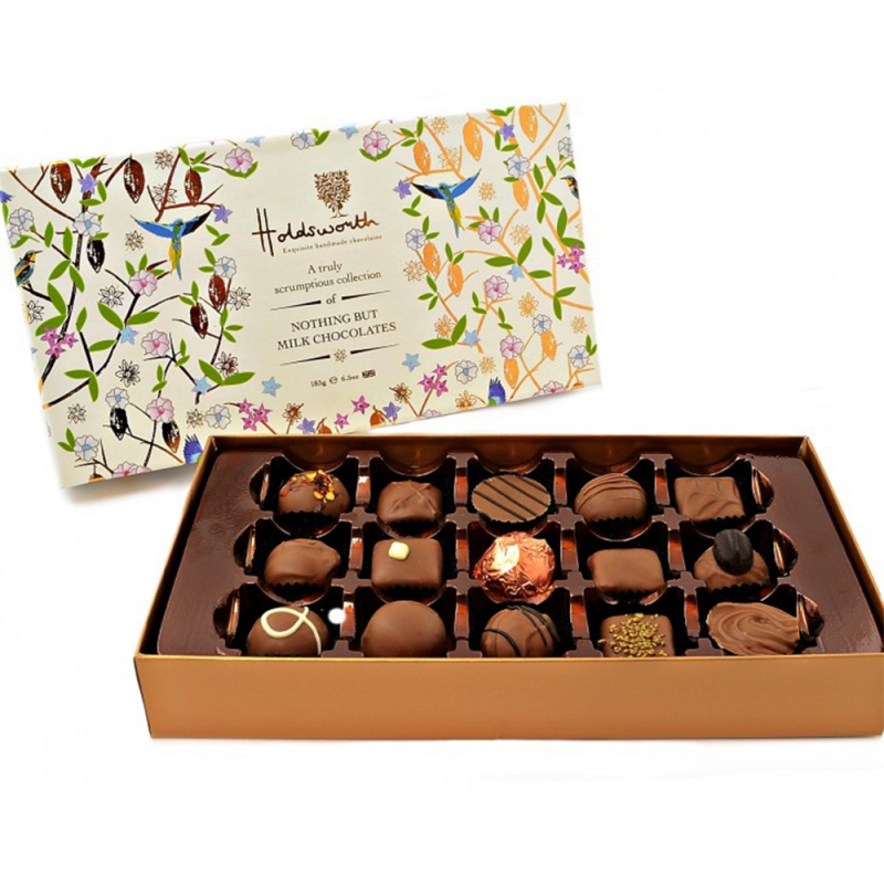 HOLDSWORTH MILK CHOCOLATE COLLECTION 185G 0