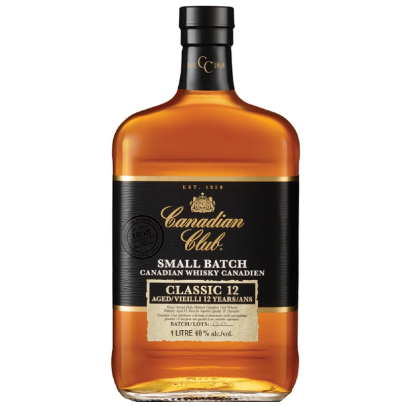 WHISKY CANADIAN CLUB SMALL BATCH 12 ANI 0.7L 0