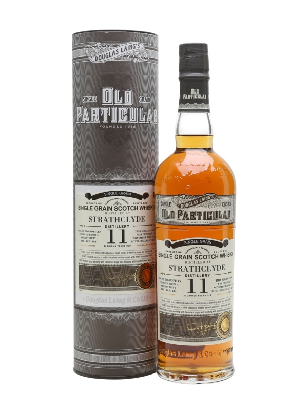 WHISKY STRATHCLYDE 11 YO OLD PARTICULAR SINGLE GRAIN 0.7L 0