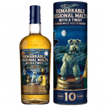 WHISKY DOUGLAS LAING REMARKABLE R MALT 10YO 0.7L