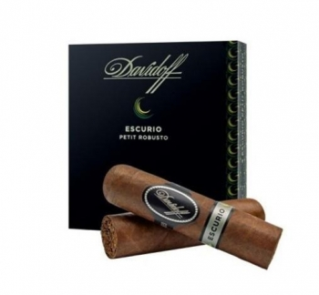 DAVIDOFF ESCURIO PETIT ROBUSTO CELLO 4S