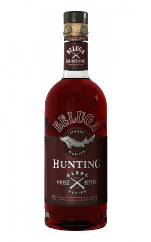 BELUGA BITTER HUNTING BERRY 50CL 0