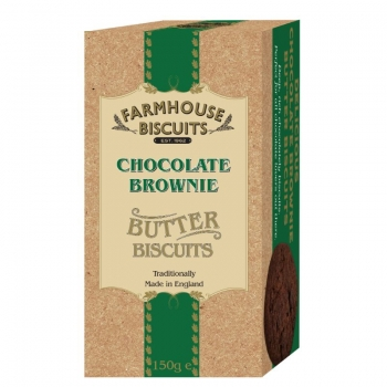 BISCUITI CU UNT SI BROWNIE LUXURY FARMHOUSE 150G