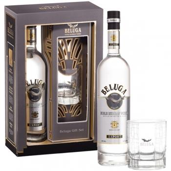 Beluga Vodka 70cl * 1 Pahar