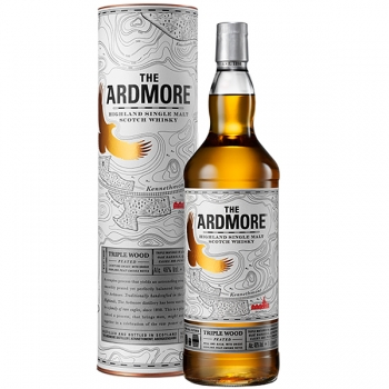 WHISKY ARDMORE TRIPLE WOOD PEATED 1L