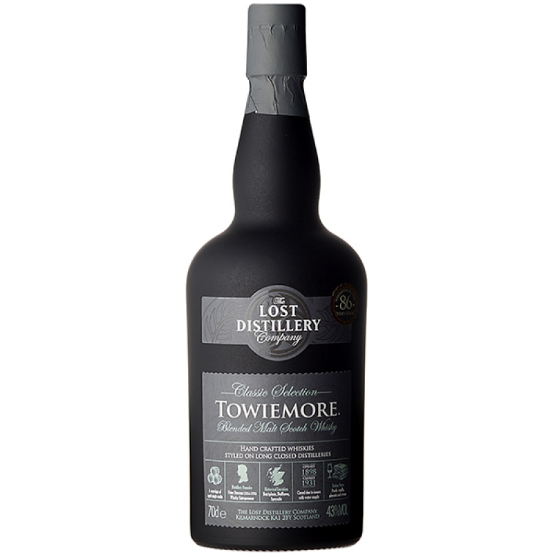 WHISKY LOST DISTLLERY TOWIEMORE 0.7L 0