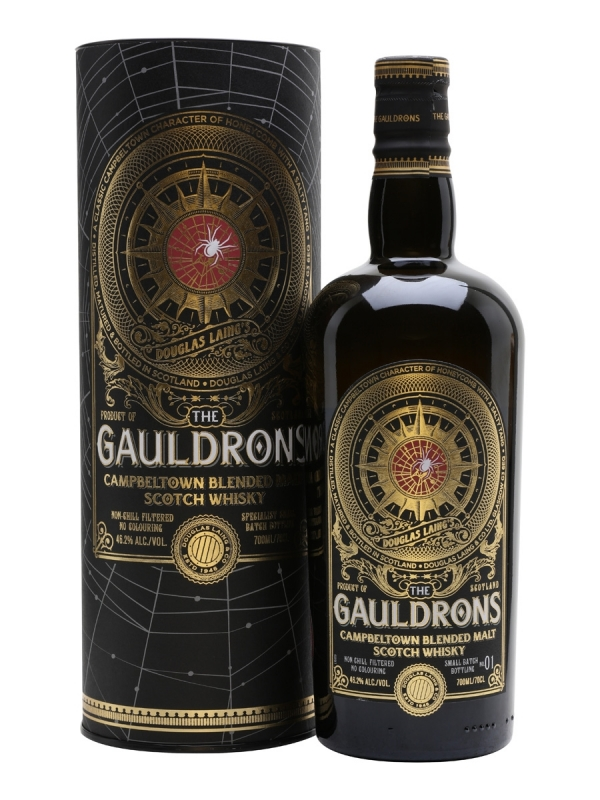 WHISKY THE GAULDRONS 0.7L 0