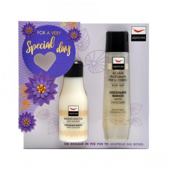 Aquolina White Chocolate 125sg.150dsp Sg.deo Set Ml