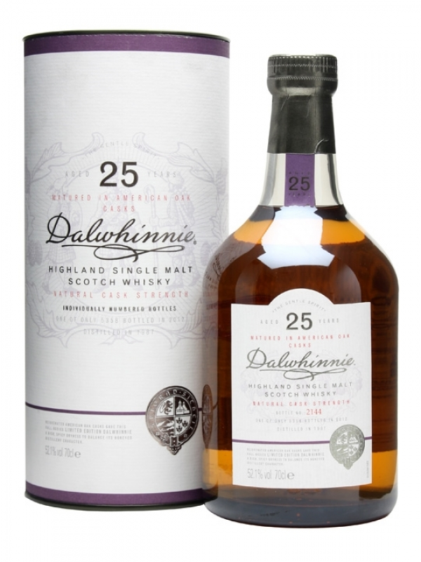 Whisky Dalwhinnie 25yo 0.7l 0