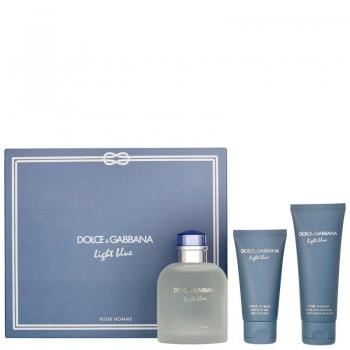 Dolce & Gabbana Light Blue M 125ml.75asb.50sg Apa De Toaleta Set Ml - Parfum barbati