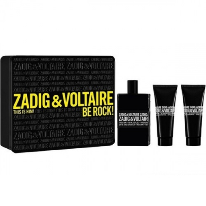 ZADIG & VOLTAIRE THIS IS HIM! 100ML.2X75SG APA DE TOALETA SET ML 0