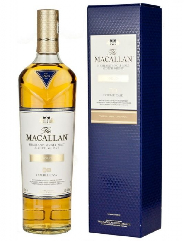 WHISKY MACALLAN GOLD DOUBLE CASK 0.7L 0