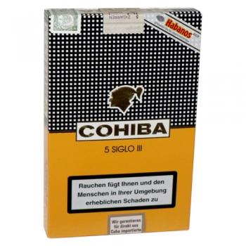 COHIBA SIGLO III - 5 BUC