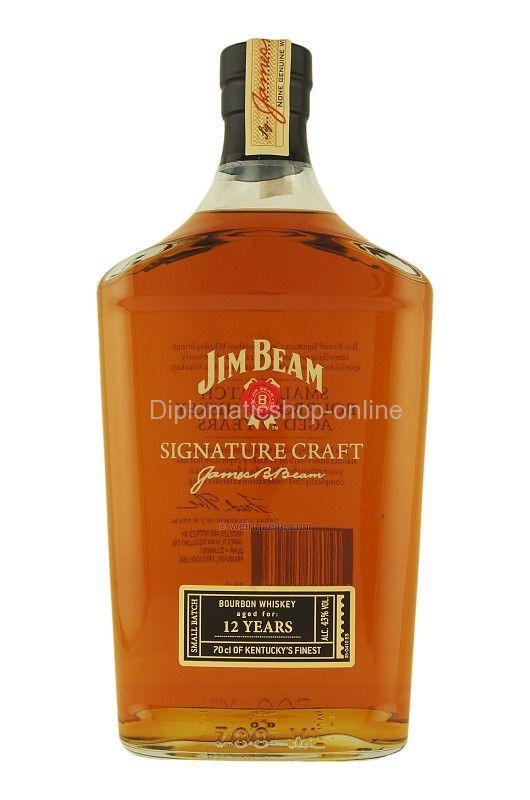 JIM BEAM SIGNATURE CRAFT 12 YO 70CL 0