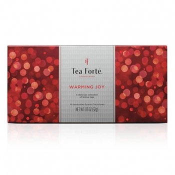 TEA FORTE WARMING JOY CEAI RED COLLECTION 15 BUC
