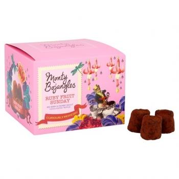 Trufe Ciocolata Monty Bojangles Ruby Fruit 100g