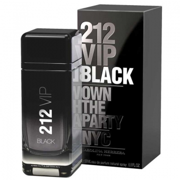 CAROLINA HERRERA 212 VIP BLACK APA DE PARFUM 200 ML