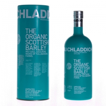 WHISKY BRUICHLADDICH ORGANIC SCOTTISH BARLEY 1L