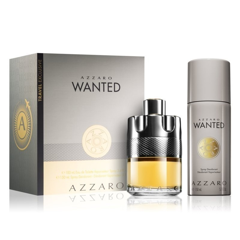 AZZARO WANTED 50ML.75DST APA DE TOALETA SET ML 0
