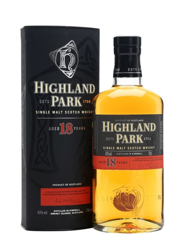 WHISKY HIGHLAND PARK 18YO 70CL 0