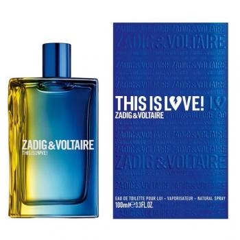 Zadig & Voltaire This Is Love! Apa De Toaleta 100 Ml - Parfum barbati