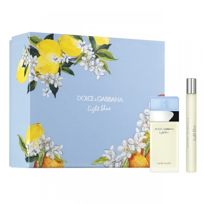 DOLCE & GABBANA LIGHT BLUE 25ML.10ML APA DE TOALETA SET ML 0